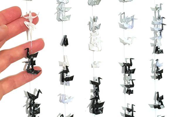 Le Lac des Cygnes… en origami miniature